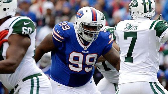 Bills DL Dareus Arrested On Drug Charges
