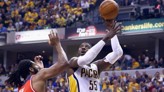 2014 NBA playoffs: Roy Hibbert sighting in Indy