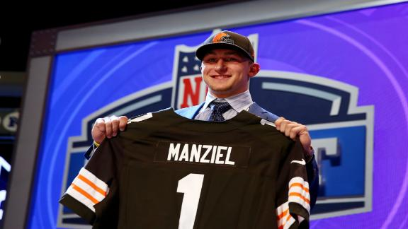 Manziel Selected By Browns At No. 22