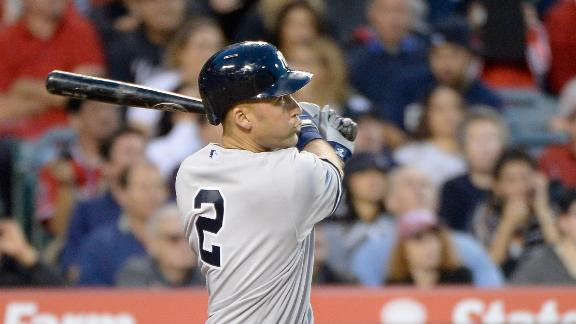 Jeter, Yankees Crush Angels
