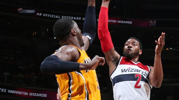 Pacers rout Wizards to take 2-1 series lead