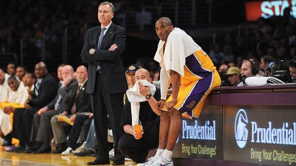 Kobe Wants Say In Next Lakers Coach