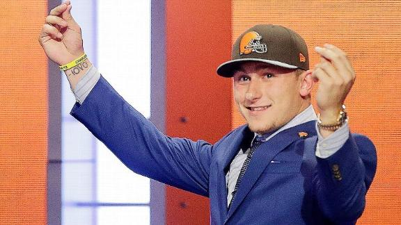 Browns ticket sales soar after Manziel pick