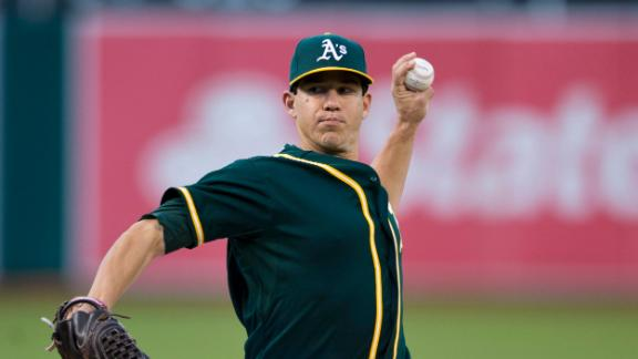 Video - A's Shut Out Nationals