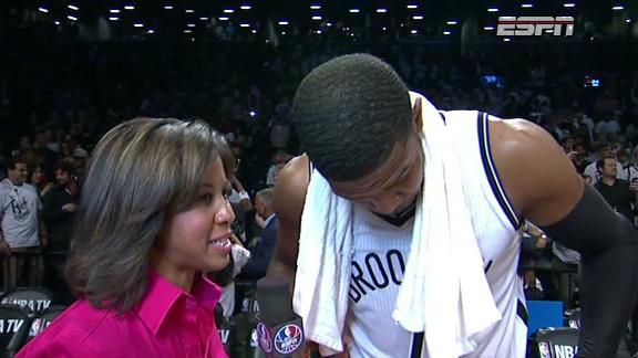 Joe Johnson After Game 3 Win