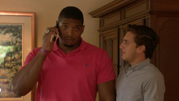 Michael Sam's Emotional Reaction