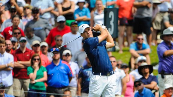 Spieth, Kaymer Tied For Lead At TPC