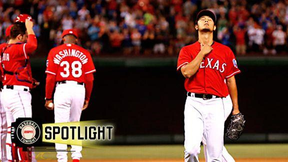 Darvish Falls One Out Shy Of No-Hitter