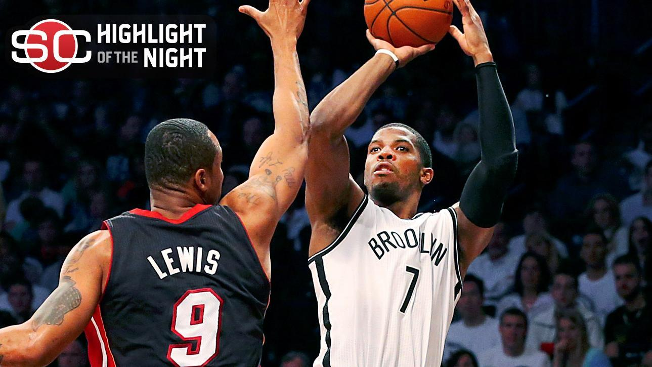 Nets Use 3-Pointers To Stop Heat
