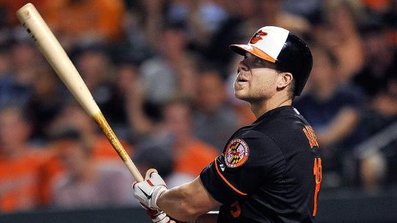 Davis Returns To Orioles Lineup