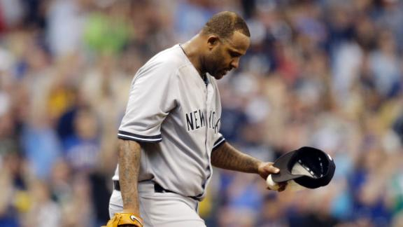 CC Sabathia Placed On Disabled List
