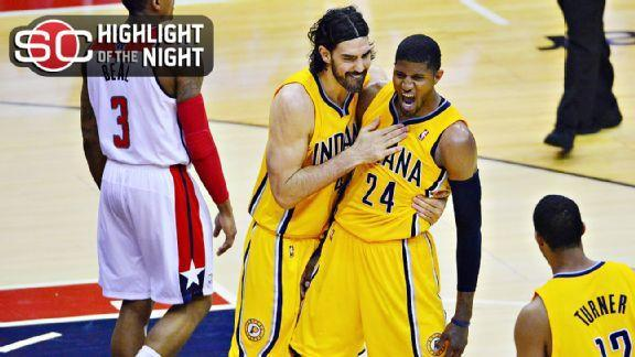 Pacers Rally To Take 3-1 Lead