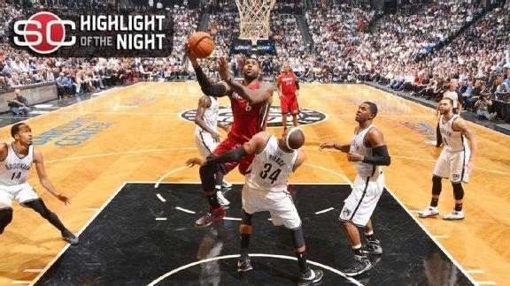 LeBron's Big Night Pushes Nets To Brink