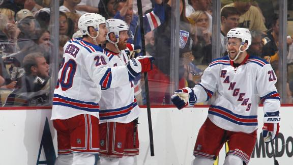 Rangers Close Out Penguins
