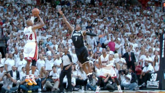 Heat advance to East finals with late rally