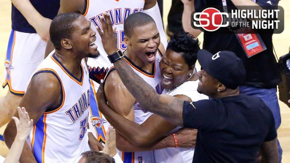 Thunder Rally For Dramatic Win