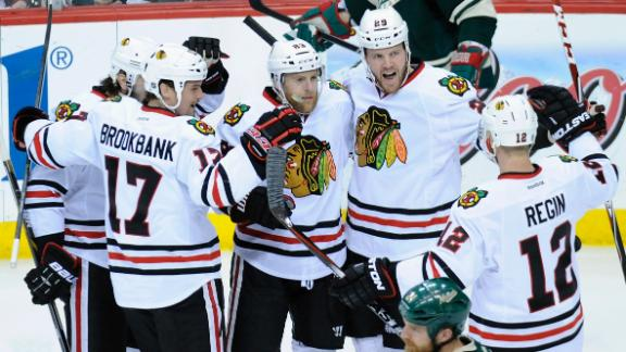 Video - Blackhawks End Wild's Season