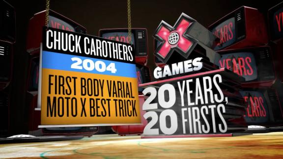 Twenty years, 20 firsts -- Chuck Carothers' first X Games