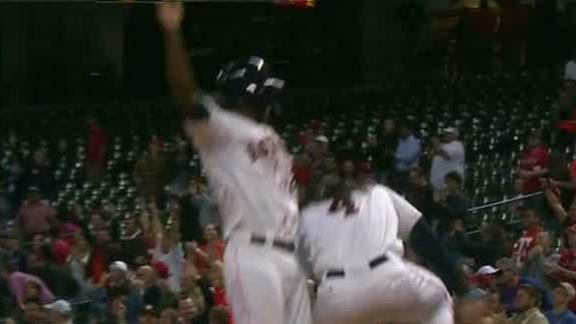 Video - Astros Walk Off With Win