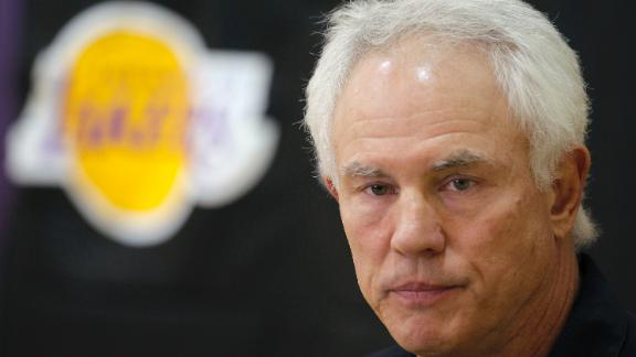 Kupchak: Kobe Won't Weigh In On Coach