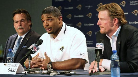 Rams player: Sam show 'raises eyebrows'