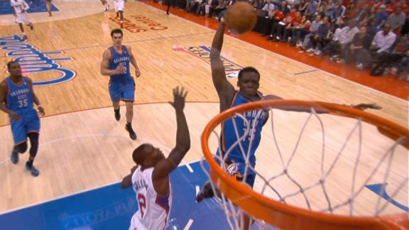 Durant, Thunder oust Clips, into West finals