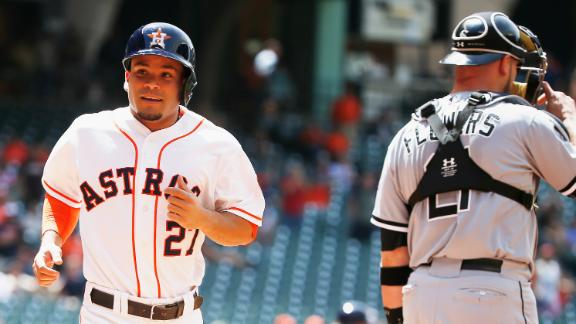 Video - Castro, Astros Edge White Sox