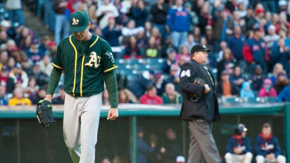 Video - Kazmir Tossed In Second For Arguing