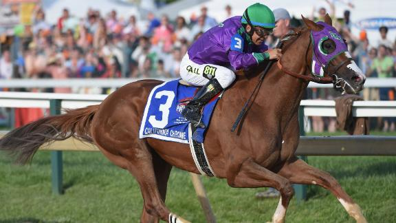 California Chrome Closer To Triple Crown
