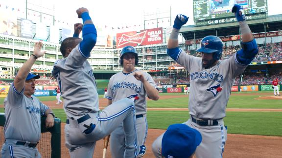 Video - Blue Jays Top Rangers