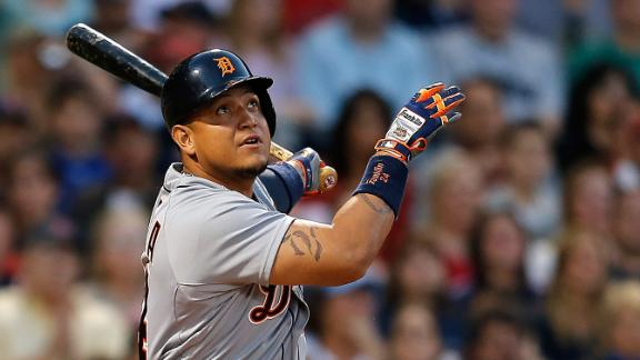 Video - Cabrera Powers Tigers Over Red Sox