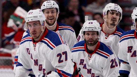 Rangers Impressive In Game 1