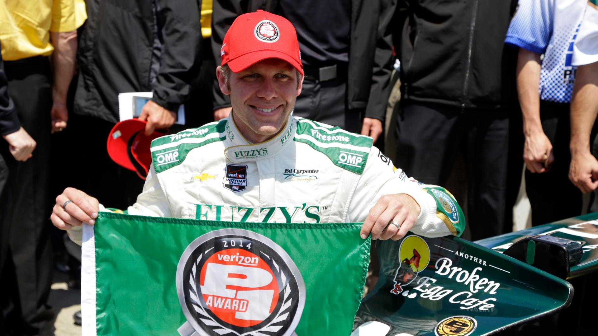 Carpenter Claims Indy 500 Pole