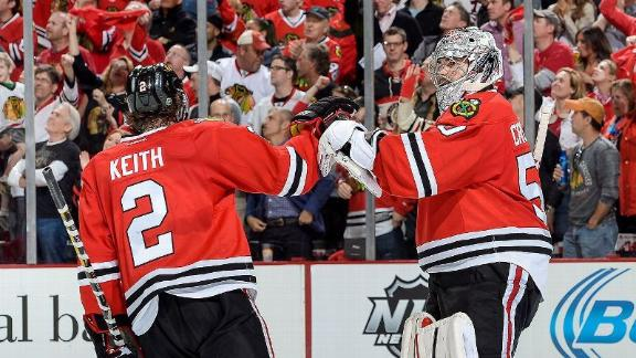 Blackhawks Impress In Game 1