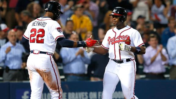 Freeman, Upton lead Braves' offensive burst