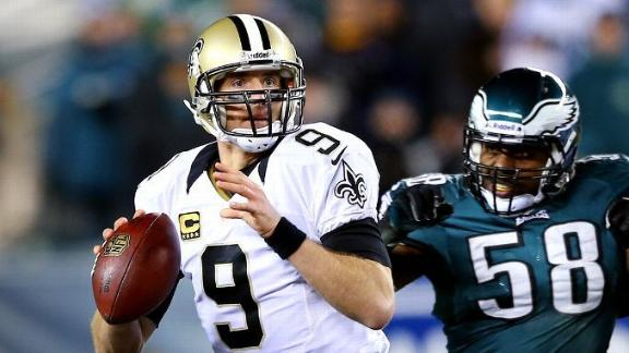 Brees Pitches Motorcycle; Not Allowed To Ride It