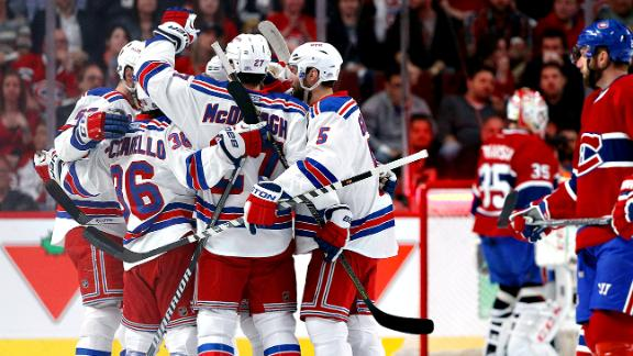 Nash, Lundqvist Lead Rangers To Game 2 Win