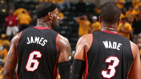 LeBron And Wade Too Much For Pacers