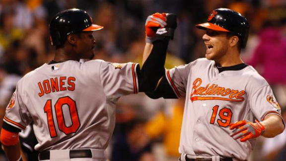 Video - Davis Leads Orioles Past Pirates