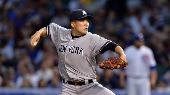 Tanaka Dealt First MLB Loss
