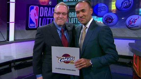Cavs Win 2014 NBA Draft Lottery
