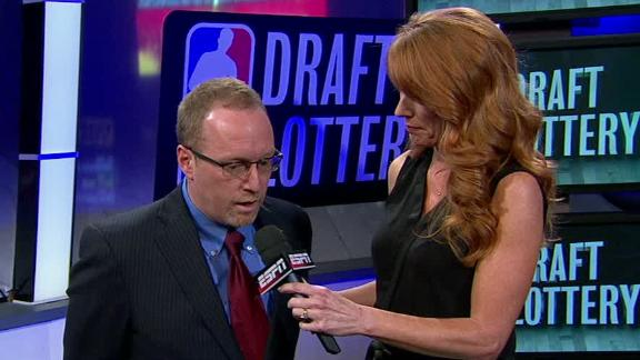 David Griffin On Cavs Winning NBA Draft Lottery