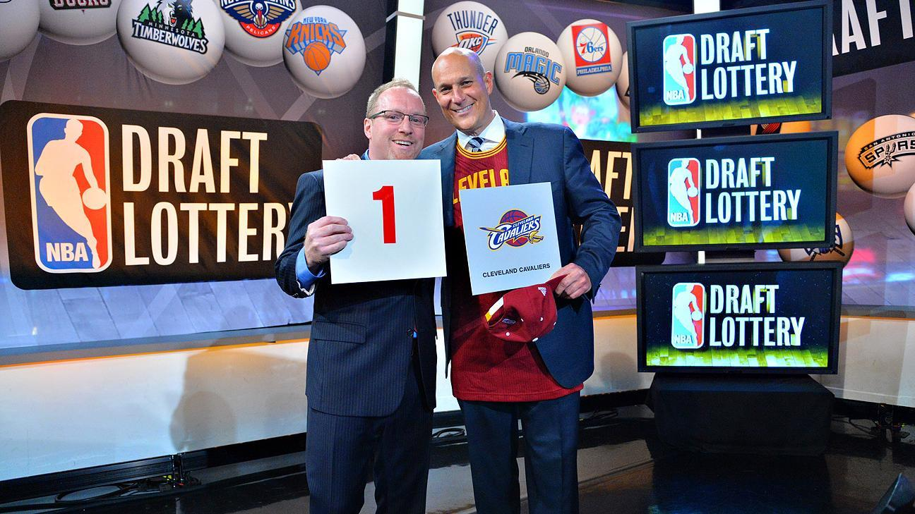 Cavaliers Get Top Pick For 2nd Straight Year