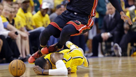 Paul George Blacked Out After Knee To Head