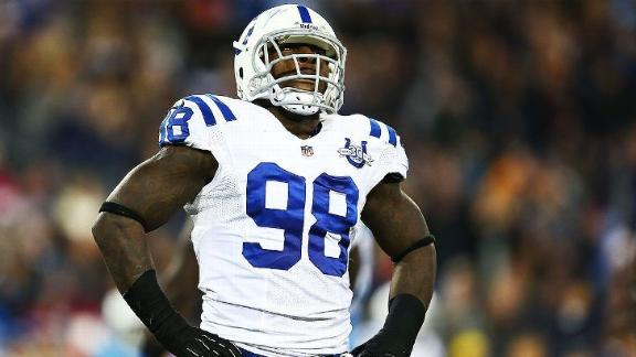 Colts LB Mathis Regrets Decision, Accepts Ban