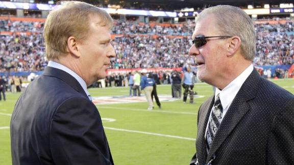 Clark: Goodell's hypocrisy exposed with Irsay