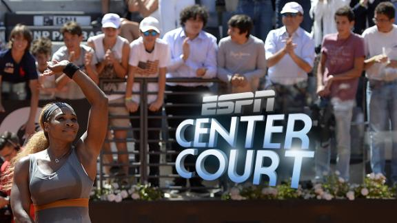 Center Court: Serena On Clay