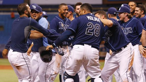 Rays Walk Off On Home Run In 11th
