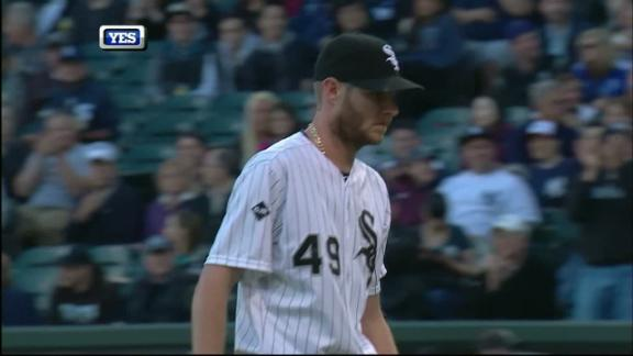 Sale takes no-hitter into 6th to win in return