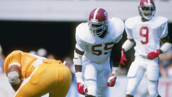 Thomas, L.T. among CFB HOF Class Of '14